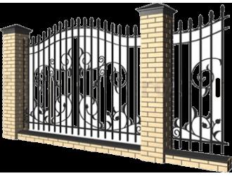 Заборы кованые