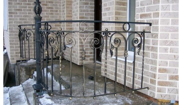 Кованый балкон №3