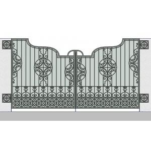 Ворота кованые №10 (кв.м.)
