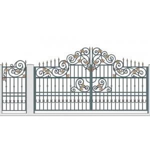 Ворота кованые №9