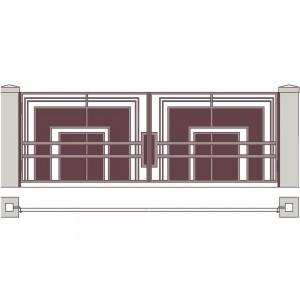 Ворота кованые №13 (кв.м.)