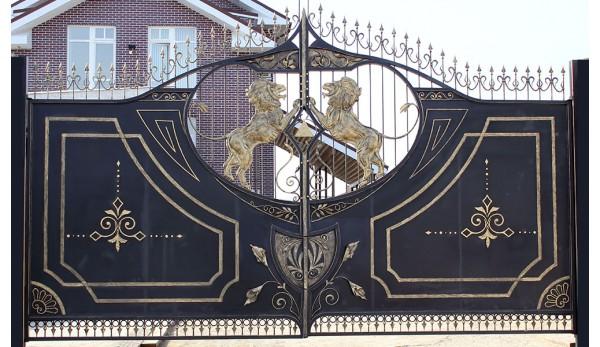Ворота кованые №1 (кв.м.)