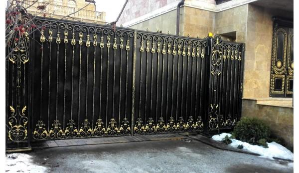 Ворота кованые №2 (кв.м.)