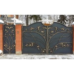Ворота кованые №3 (кв.м.)
